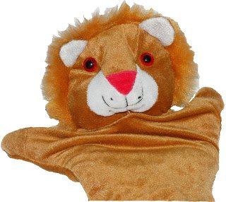 Vinayaks Lion Hand Puppet , Hand Puppet Lion , Hand Puppets for Kids , Hand Puppets for Baby, Soft Toys for Kids, Hand Puppets Animals , Educational Toys and Gifts