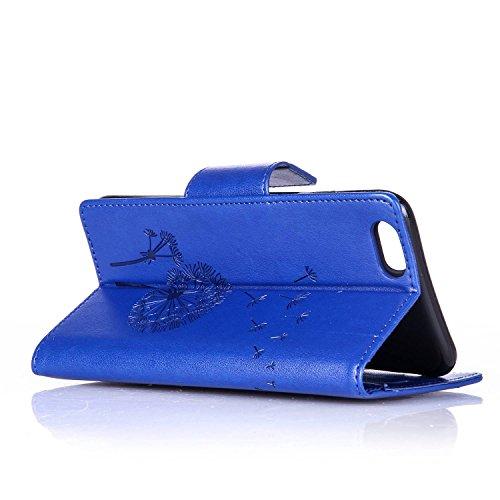 Voguecase® für Apple iPhone 6/6S 4.7 hülle,(Baum/Rosa) Kunstleder Tasche PU Schutzhülle Tasche Leder Brieftasche Hülle Case Cover + Gratis Universal Eingabestift Diamant/Löwenzahn/Blau