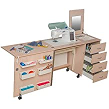 Comfort 2 | Mesa para máquina de coser | (Beech Elmau, XL (Air