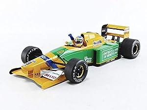 Minichamps 113920119 - Coche en Miniatura de colección, Color Amarillo y Verde