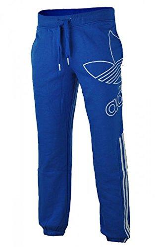 IG2 adidas Ost FZ Kapuzen Pullover Sweatshirt Jogging Hose Blau S