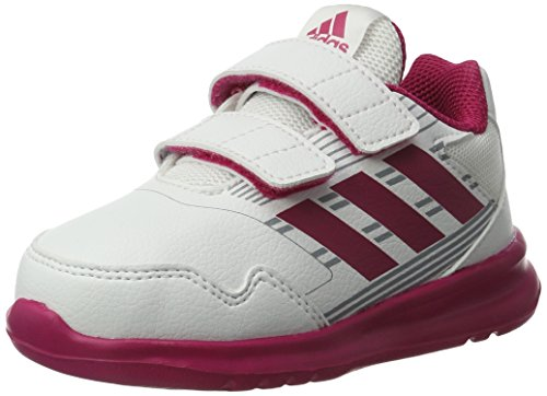 adidas Altarun Cf i, Sneakers Unisex – Bimbi 0-24 Bianco (Ftwr White/bold Pink/mid Grey)