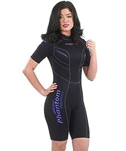 Phantom Aquatics Damen Schwimm Neoprenanzug marine damen