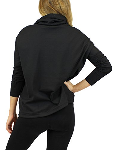 Eleven Paris Damen Sweatshirt BRABOU W Schwarz (BLACK M06)