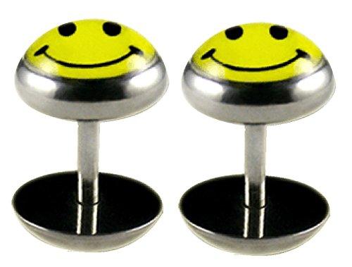 BodyTrend Acero Quirúrgico Fake Plug con imágenes by par–diseño Sonriente–el Post ES 1,6mm