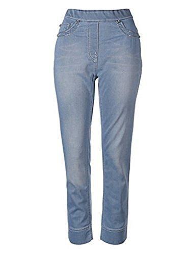 Hose Zauberhose® Jeans Damen von Mocca by J.L. Hellblau