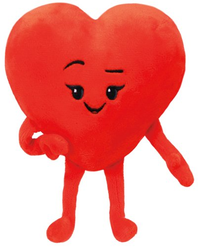 Ty- The Movie Heart, Emoji, 15 cm (United Labels Ibérica 42299TY)