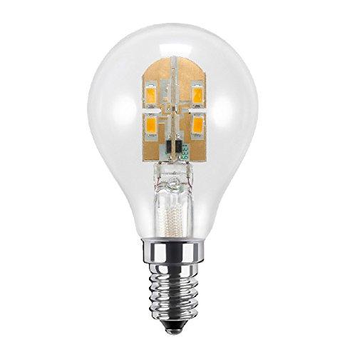 Segula LED Tropfenlampe 3,5 W, klar 50323