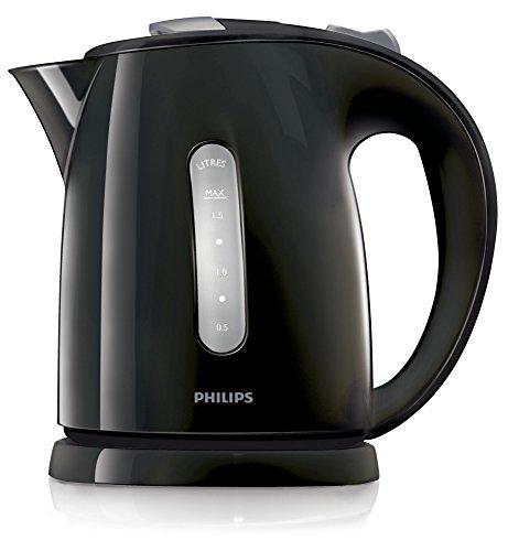 Philips HD4646/20  Serie Wasserkocher (1,5 Liter, 2400 Watt, Anti-Kalk) schwarz - 3