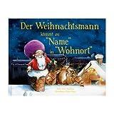 YourSurprise Der Weihnachtsmann kommt! Personalisiertes Kinderbuch mit Namen Softcover
