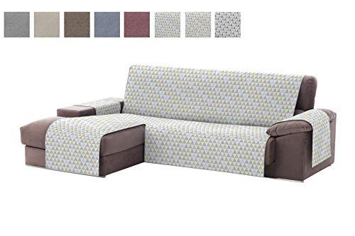 Textil-home Funda Cubre Sofá Chaise Longue Dante