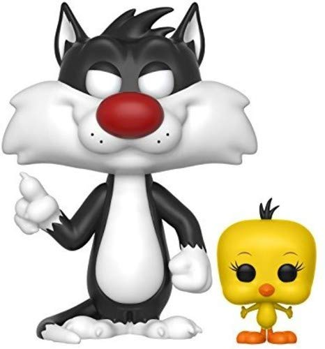 Funko Pop Looney Tunes Sylvester Tweety Figurine 21975 Multicolore Standard