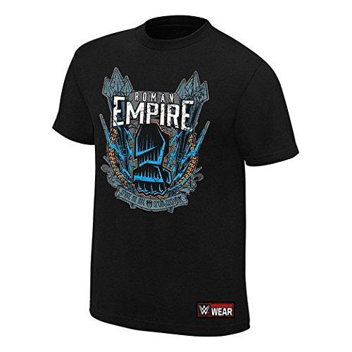 roman-reigns-no-one-spear-de-rechange-tous-authentique-t-shirt-pour-homme-noir-moyen