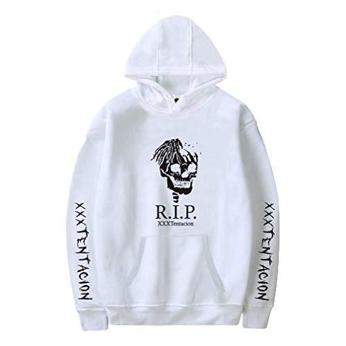 Trendy Kapuzen Unisex Hoodie Fans Hoodie Cool Streetwear Und Spiel Sweatshirt Pullover Tops Jacke Outwear Für Männer Jungen Damen Weiß 3XL