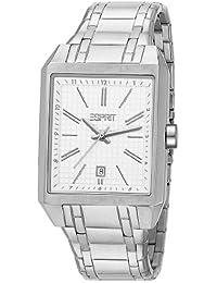 Esprit Damen-Armbanduhr Monterey Brown Analog Quarz Leder