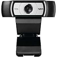 Logitech C930 HD Webcam (1080p und USB Anschluss) schwarz/silber