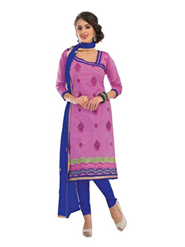 Vibes Cotton Straight Fit Salwar Kameez ( Get Free Top that can be wore with the same Bottom and Dupatta)