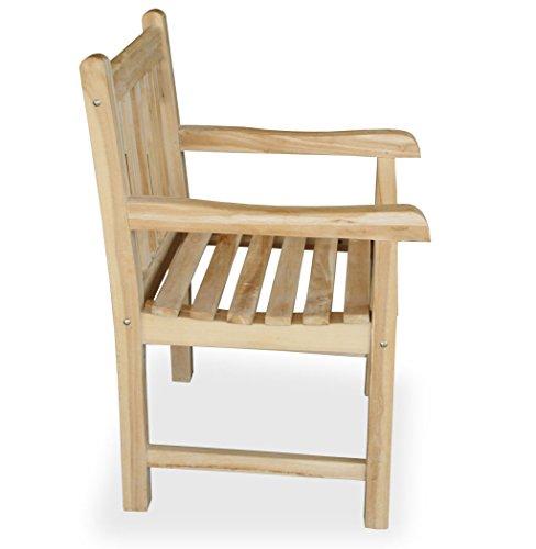 """KMH®, Teak Gartensitzgruppe """"Classic"""" mit 180 cm langem Tisch für 6 Personen (#102204) - 5"""
