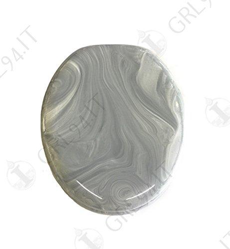 Sedile Water Ideal Standard Conca.Novasedili Toilet Universal Colour Mix White Ideal Standard Silver Grey