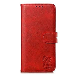 Tosim Xiaomi Mi Max 3 Hülle Klappbar Leder, Brieftasche Handyhülle Klapphülle mit Kartenhalter Stossfest Lederhülle für Xiaomi Mi Max3 – TOXLI010679 Blau