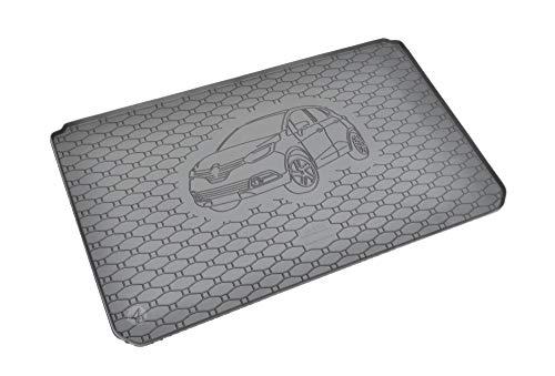 Passgenau Kofferraumwanne geeignet für Renault Captur ab 2013 ideal angepasst schwarz Kofferraummatte