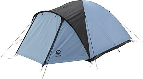 Grand Canyon Topeka 3 Kuppelzelt (3-Personen-Zelt) blau/schwarz, 302204