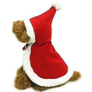 Nouvelle Robe De Noël Chat Et Chien Cape Cloak Vêtements Pour Animaux De Compagnie Pour Noël