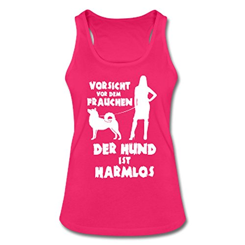 Husky: Vorsicht vor dem Frauchen – der HUND ist HARMLOS Fuchsia