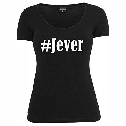 T-Shirt #Jever Hashtag Raute für Damen Herren und Kinder ... in der Farbe Schwarz Schwarz