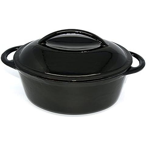 Baumalu 387.002 - padella ovale con fondazione coperchio (capacità 4,5