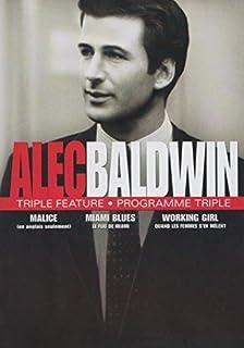 Alec Baldwin Collection - Triple Collection (Malice / Miami Blues / Working Girl) (Bilingual)