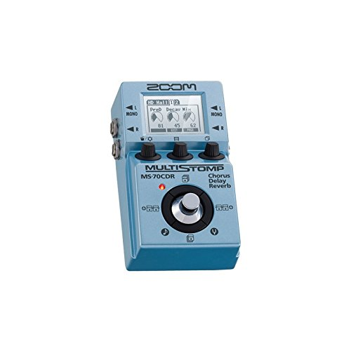 Zoom MS70CDR/SP - Pedal multiefectos