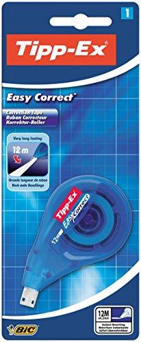 Tipp-Ex Korrekturroller Easy Correct, zum seitlichen Korrigieren, 4.2 mm x 12 m, Blister à 1 Stück