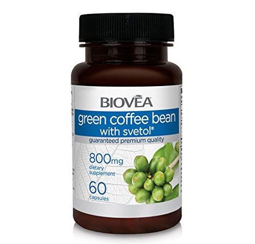 GRÜNE KAFFEEBOHNEN MIT SVETOL 800 mg 60 Gemüsekapseln