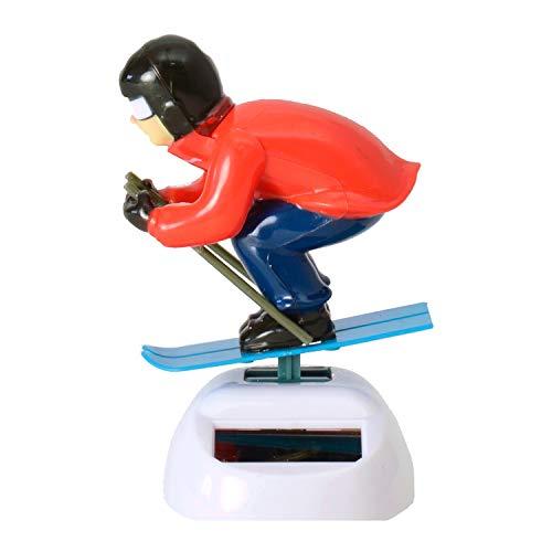 Unbekannt Skifahrer Solarfigur - Solar Figur
