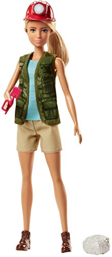 Barbie - Muñeca Quiero Ser Paleontóloga (Mattel FJB12)