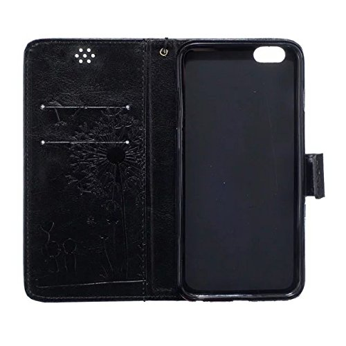 meision Coque iPhone 6 étui en cuir protective-taken Étui portefeuille iPhone 6