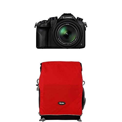 Panasonic LUMIX DMC-FZ1000EG Premium-Bridgekamera (20,1 Megapixel, 16x opt. Zoom, opt. Bildstabilisator, LEICA DC VARIO-ELMARIT Objektiv, 4K Video)...