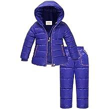 ZOEREA Unisex Piumino Bambino Invernale Tuta da sci per bambino
