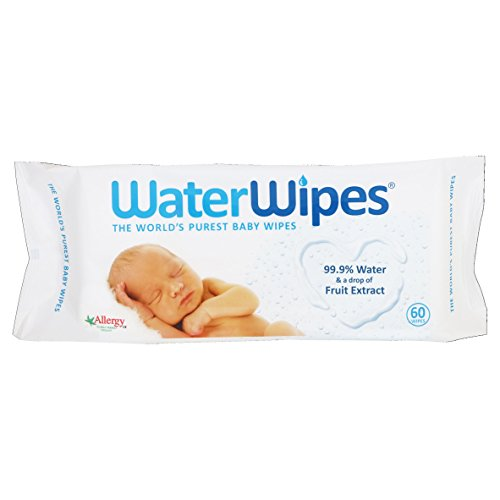 WaterWipes Baby Wipes, 60 Wipes 41tJKHeo0PL