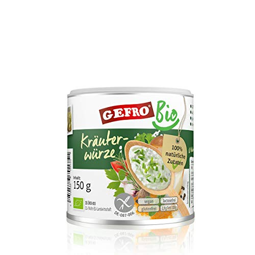 GEFRO Bio Kräuterwürze 150g - Kräuter-salz