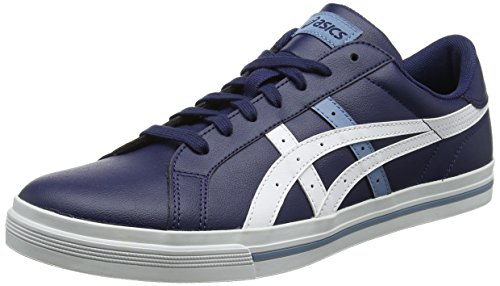 Asics Classic Tempo, Chaussures de Gymnastique Homme Bleu (Peacoat/white 5801)