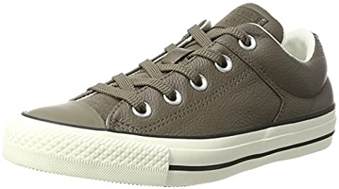Converse Unisex-Erwachsene Chuck Taylor All Star High Street Sneaker, Grau (Engine Smoke/Black), 40 EU