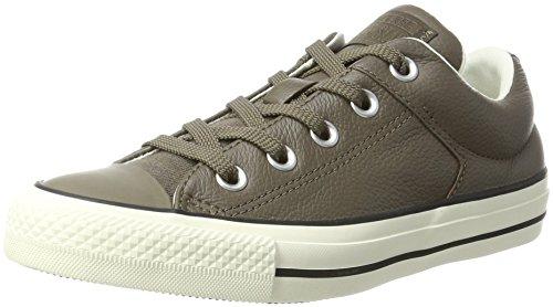Converse Chuck Taylor all Star High Street, Sneaker Unisex-Adulto, Grigio (Engine Smoke/Black 207), 39 EU