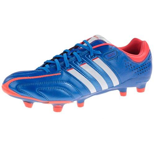 adidas Performance Unisex-Erwachsene Adipure 11pro Trx Fg Micoach Fußballschuhe blau / rot / weiß