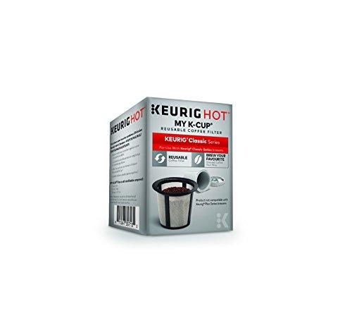 Keurig My K-Cup Universal Mehrweg-Kaffeefilter Altes Modell Small grau