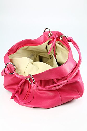 Belli , shoppers femme rose bonbon