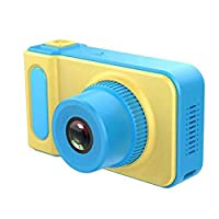 Kids Digital Camera, Mini 2 Inch Screen Toddlers Toy Camera 1080 HD Video Action Camcorder with Silicone Soft Cover & Hanging Strap, Best Gift for best video camera For Children