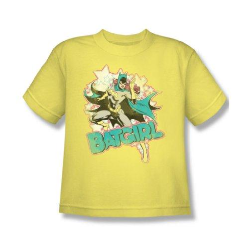 Dc Comics - Ich bin Batgirl Jugend T-Shirt in Banana Sheer Banana Sheer