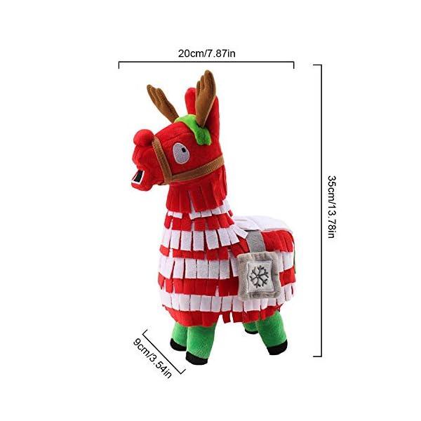 KOBWA Loot Llama Juguetes de Peluche, Linda Loot Llama Peluche Figura Muñeca Juguetes de Peluche Suave 6